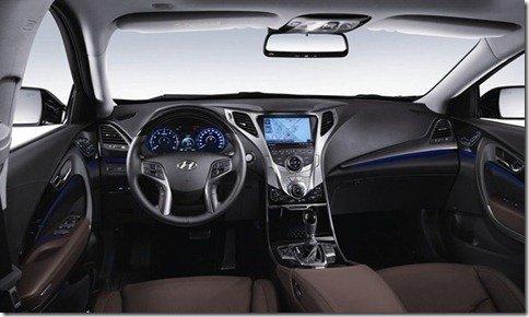 Hyundai mostra interior do novo Azera