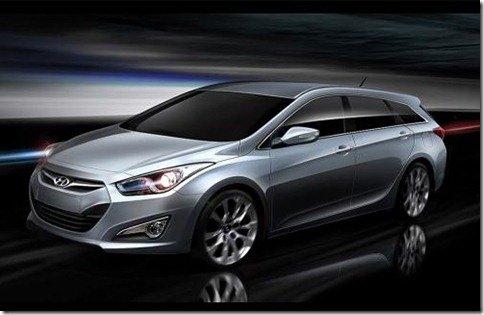 Hyundai i40 Kombi tem primeiras imagens reveladas