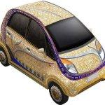Tata Nano terá série especial banhada a ouro