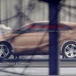 Flagra mostra maquete de novo Mercedes