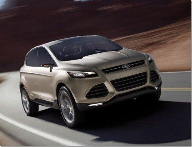 Ford Vertrek adianta novos Kuga e Escape em Detroit