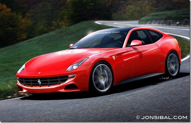 Como será a substituta da Ferrari 612 Scaglietti?