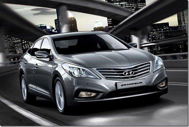 Novo Hyundai Azera é lançado oficialmente na Coréia