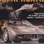 Revista revela Pagani Huayra