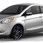 Como seria a versão de produção do Mitsubishi Concept Global Small?