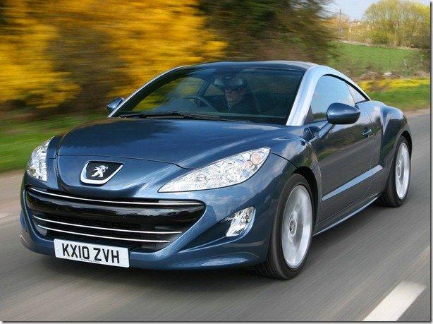 Peugeot RCZ é eleito o carro Gay de 2011 na Europa
