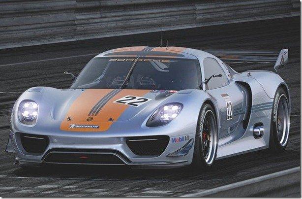 Eis o Porsche 918 RSR