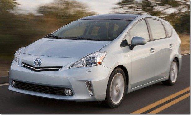 Toyota mostra novos integrantes da família Prius