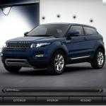 Quer um Evoque? Você já pode configurar o seu no site da Land Rover