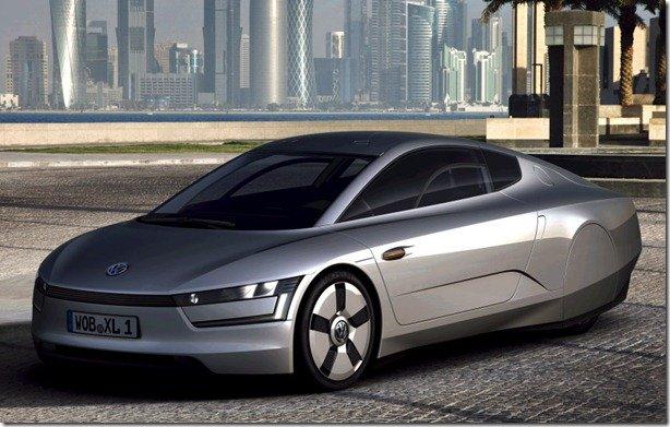 Volkswagen XL1 promete rodar 500km com 10l de gasolina