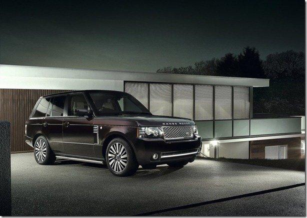 Land Rover divulga informações e fotos da Range Rover Autobiography Ultimate