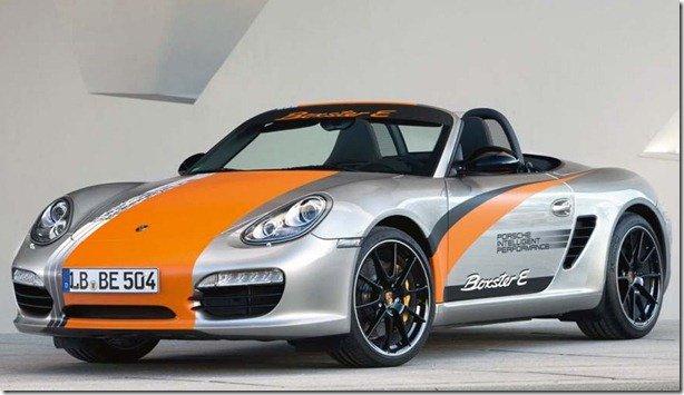 Porsche mostra Boxster S elétrico