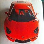 Revista divulga imagem do Lamborghini Aventador