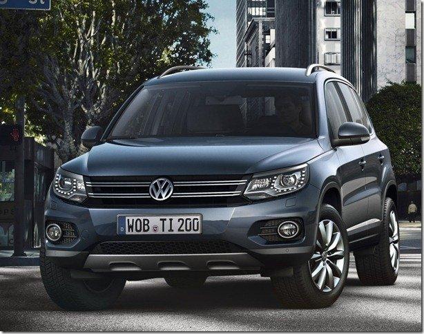 Volkswagen divulga fotos oficiais do Tiguan 2012