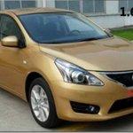 Nova geração do Nissan Tiida é flagrado