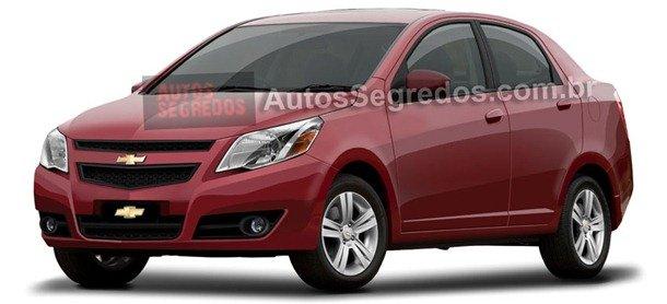 Chevrolet GSV, o 'novo Corsa Sedan' brasileiro, roda em testes na Europa