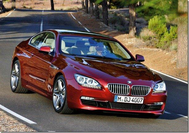 BMW Serie 6 Coupé 2012 é revelado