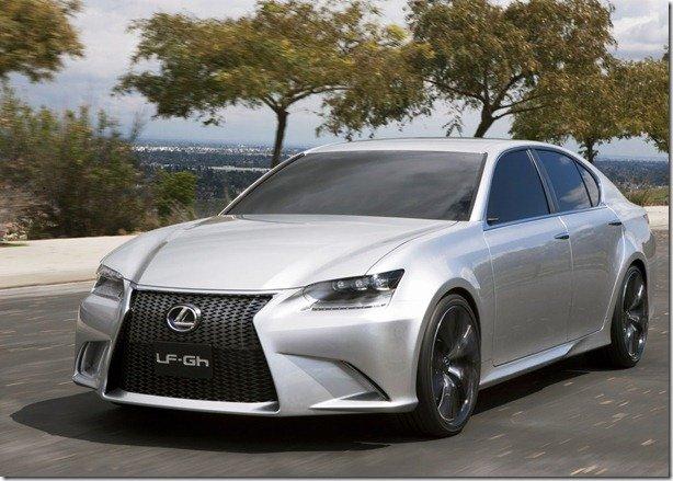 Lexus revela o conceito LF-Gh
