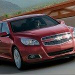 Chevrolet Malibu 2012 aparece em primeira imagem oficial