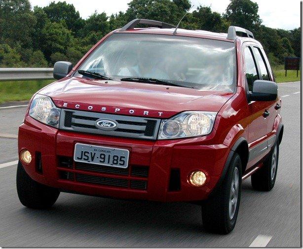 Ford EcoSport 2012 tem novidades para a versão FreeStyle