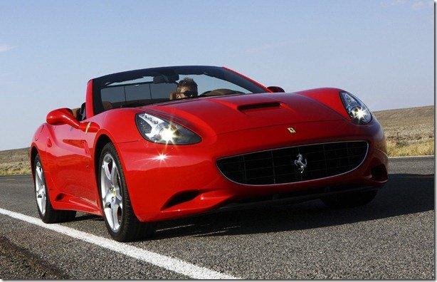 46% das Ferraris vendidas em 2010 eram California
