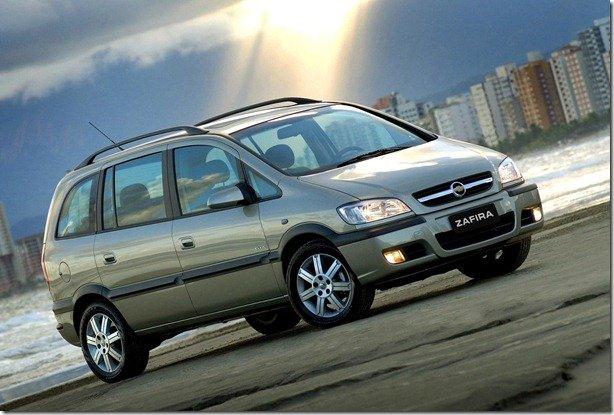 Chevrolet Corsa e Zafira dão adeus à Argentina