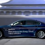 BMW-Brilliance mostra versão híbrida do Série 5