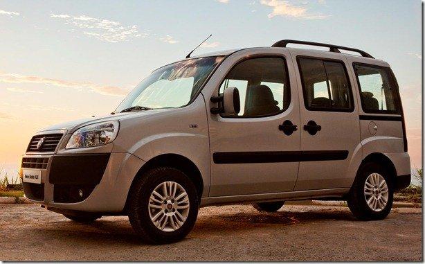 Fiat Doblò tem novos nomes de versões