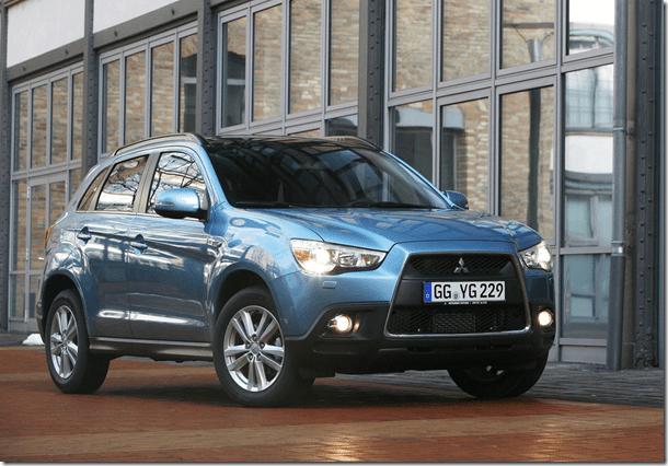 Mitsubishi ASX dará origem ao Citroën Crossback e Peugeot 2008
