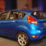 New Ford Fiesta Hatch é flagrado em evento no Uruguai