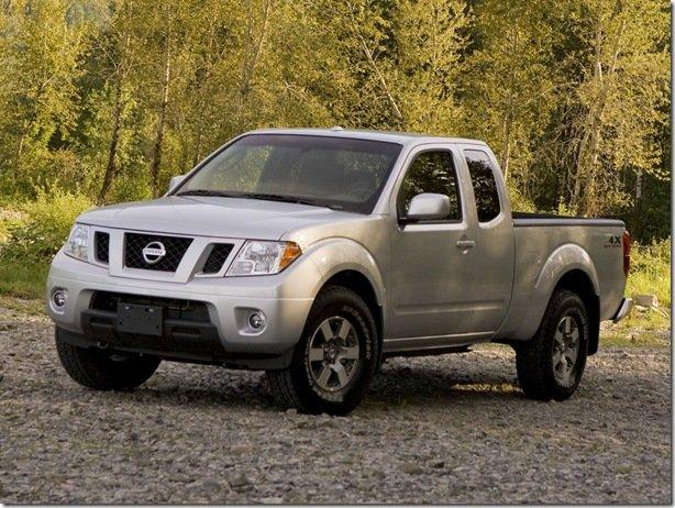 Nissan Frontier Limited Edition é envolvida em Recall