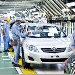 Toyota suspenderá produção para controlar falta de peças