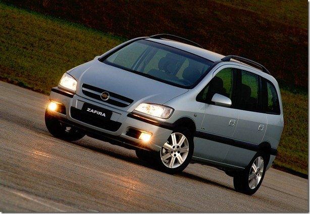 Chevrolet Zafira 2012 está mais barata