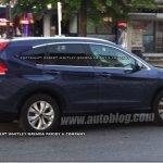 Nova geração do Honda CR-V é flagrada em testes
