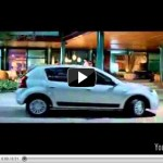 Video – Comercial do Renault Sandero 2012