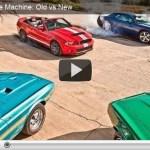 Um comparativo entre os muscle cars de ontem e de hoje