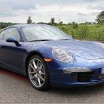 Porsche 911 2012 aparece com menos camuflagem