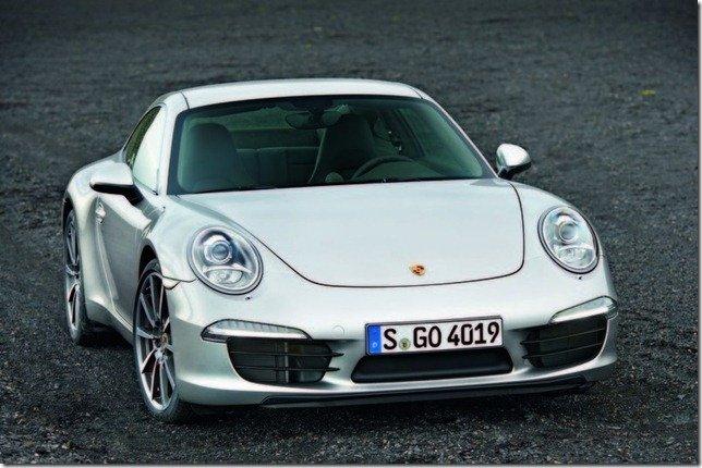 Vazam imagens do Porsche 911 2012
