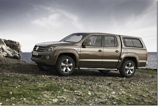 Volkswagen Amarok ganha capota fechada como opcional na Europa