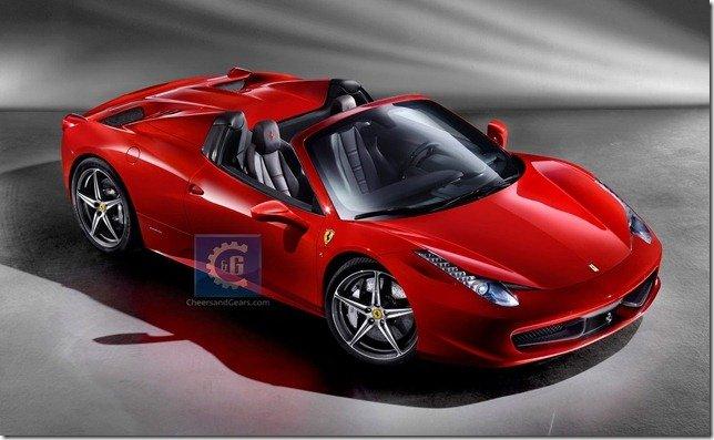 As primeiras imagens da Ferrari 458 Spider