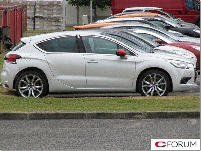 Citroën DS4 Racing seria apresentado em Frankfurt