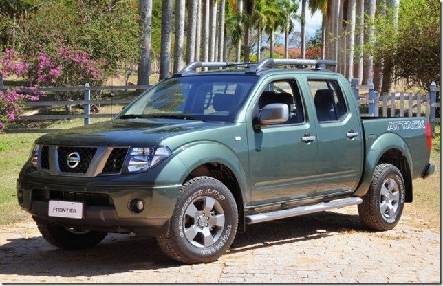 Nissan Frontier Attack é relançada na linha 2012