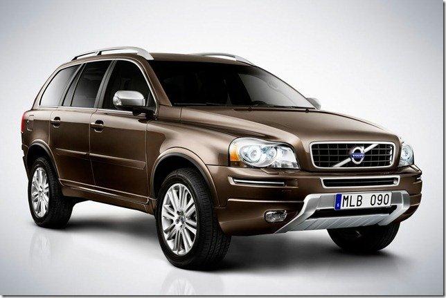 Volvo XC90 2012 passa por leves alterações