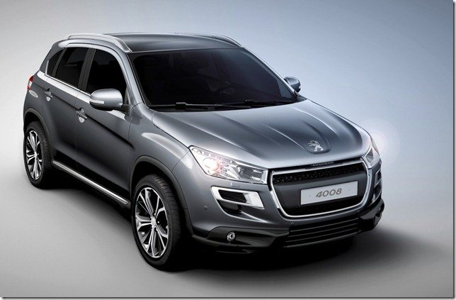 Peugeot apresenta o SUV 4008