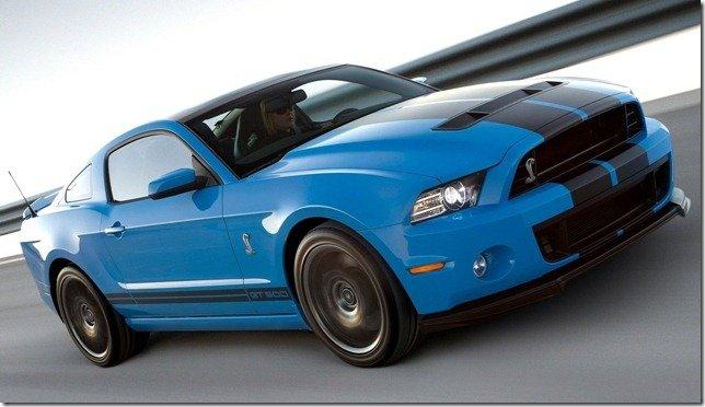 Ford Shelby GT500 2013 – 659 cavalos e máxima de 320 km/h