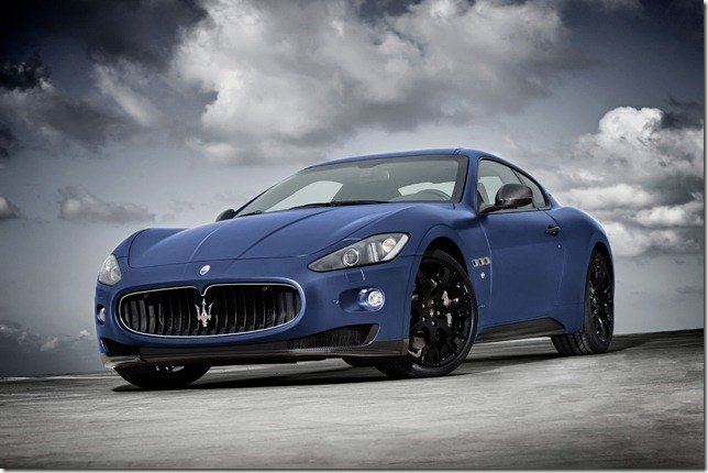 Maserati lança GranTurismo S Limited Edition