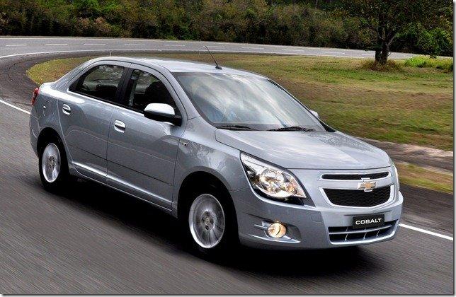 Chevrolet convoca Cobalt para recall