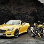 Mercedes SLK 55 AMG ganha série Ducati Streetfighter 848