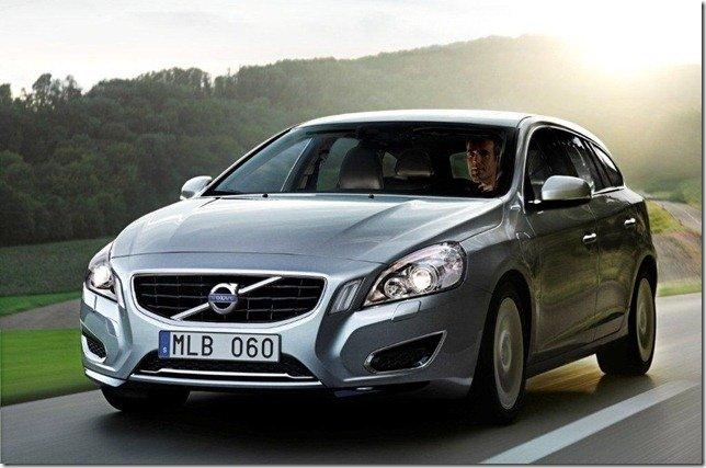 Volvo apresenta o V60 Plug-in Hybrid