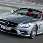 Imagens oficiais do Mercedes SL 2012